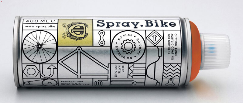 spray bicycle