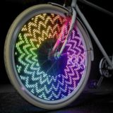 Monkey Light for bicycle wheels