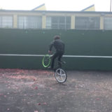 How to 180 with your fixie bike