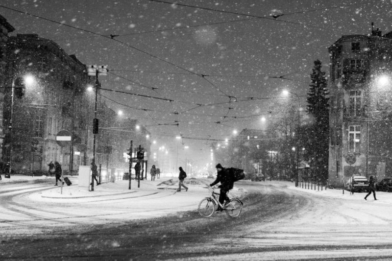 how to fight the cold by bicycle
