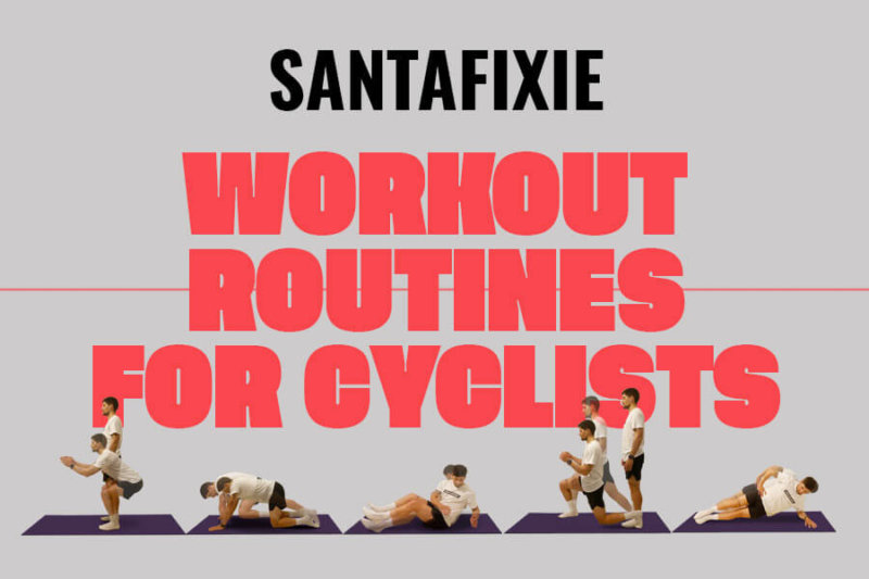 gym workout chart for cyclists