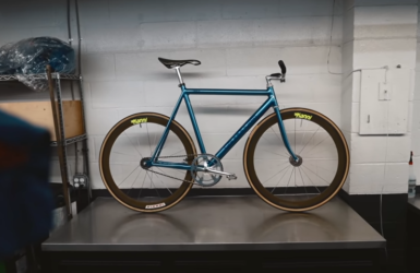 DREAM BUILD FIXED GEAR - 1992 Cannondale Track
