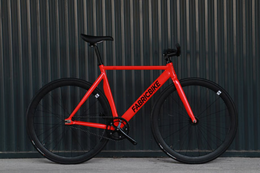 FabricBike Air+ Track Bicycle - Light Red 1
