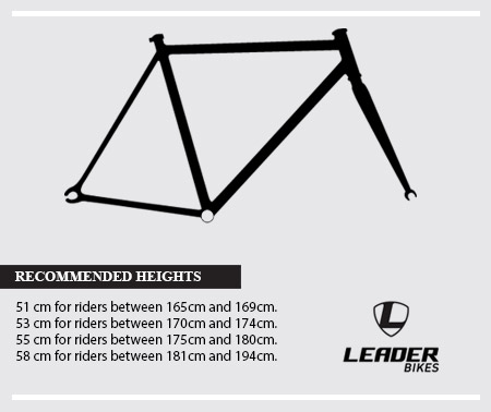 Leader 735 Frame - Black