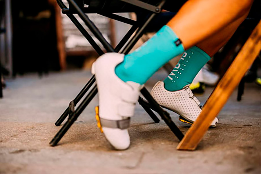 Pacifico Speed/Slow Life V2.0 Turquoise Socks 2