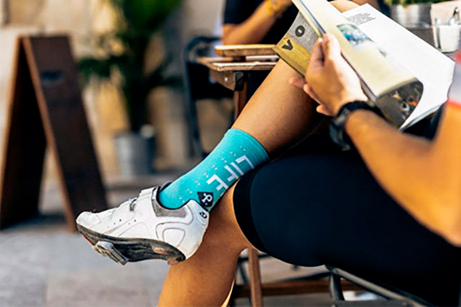 Pacifico Speed/Slow Life V2.0 Turquoise Socks 3