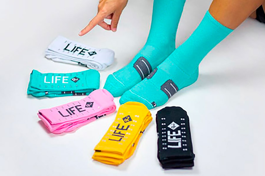 Pacifico Speed/Slow Life V2.0 Turquoise Socks 4