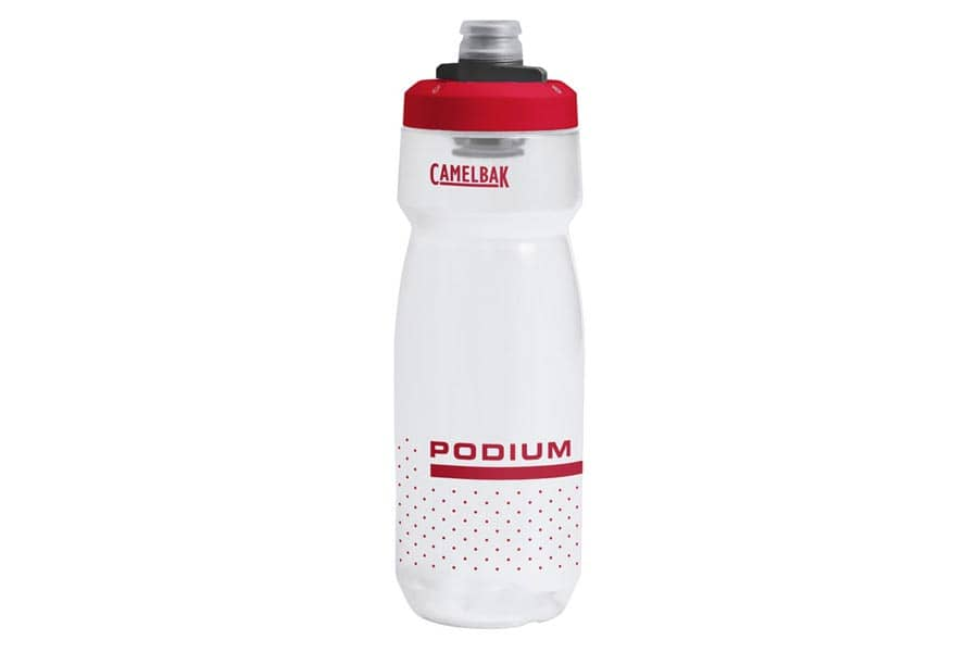 CamelBak Podium 21oz Cycling Bottle - Clear Red