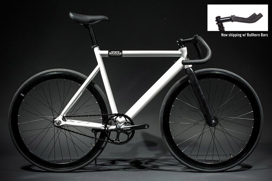 Buy The State Bicycle Premium Black Label Pearl White