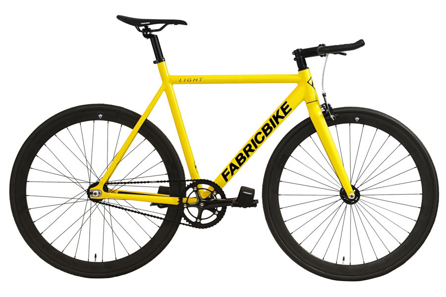 efb25d1bc Buy the FabricBike Light Yellow Track Bicycle.