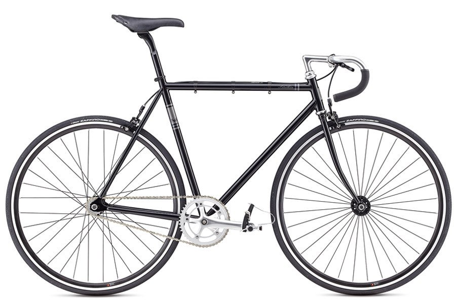 d8185766f09 Fuji Feather Fixed Gear Bicycle 2017 in Black