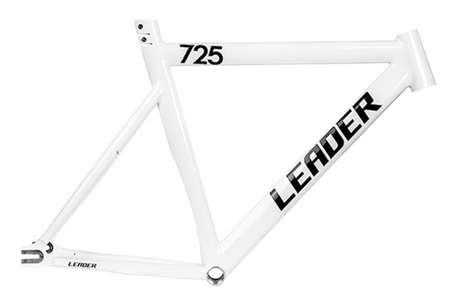 Santa Fixie. Buy the Leader 725 frame in white for fixies. 725 ...