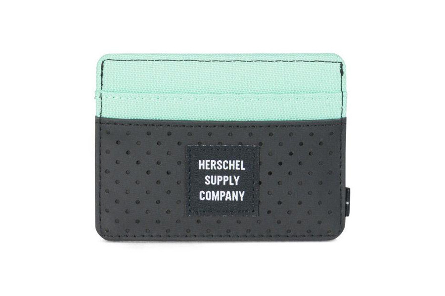 128227b4ae6e Buy Herschel Charlie Wallet - Black Lucite Green RFID - Aspect Collection