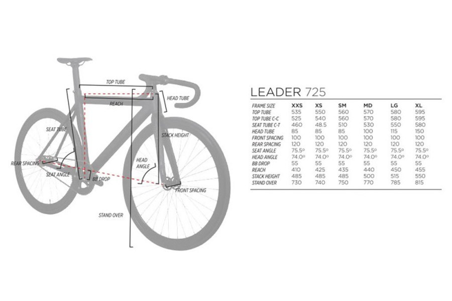 Santa Fixie. Buy the Leader 725 black frame and I806 carbon fork for ...