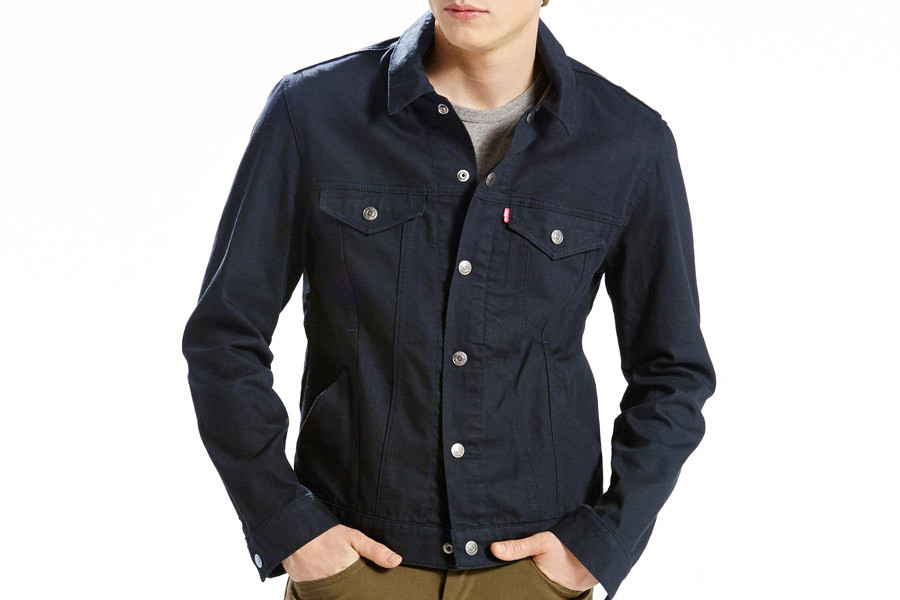 fa85b744 Buy Levi's Commuter Trucker Jacket Pro - Nightwatch Blue Softshell