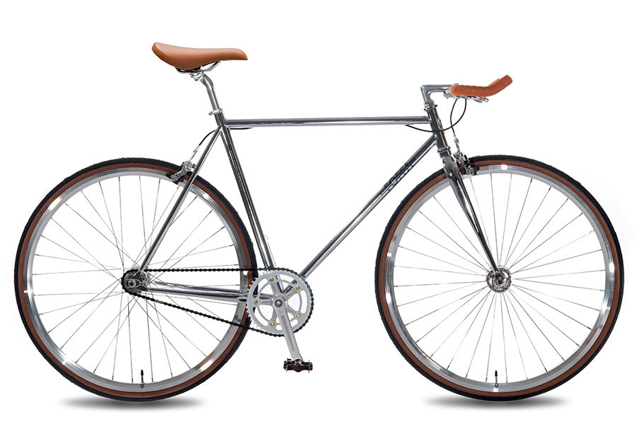 Buy The Foffa Single Speed Premium Bullhorn Silver Bicycle