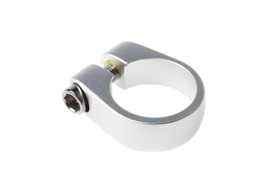 BLB 27.2mm Seat Clamp - Silver