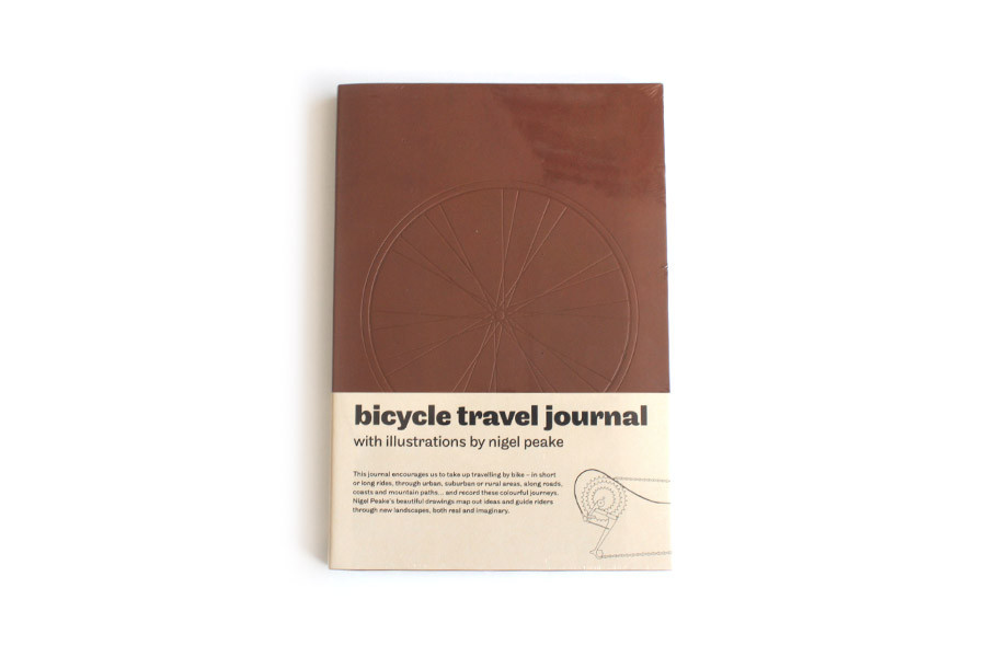 Bicycle Travel Journal Book