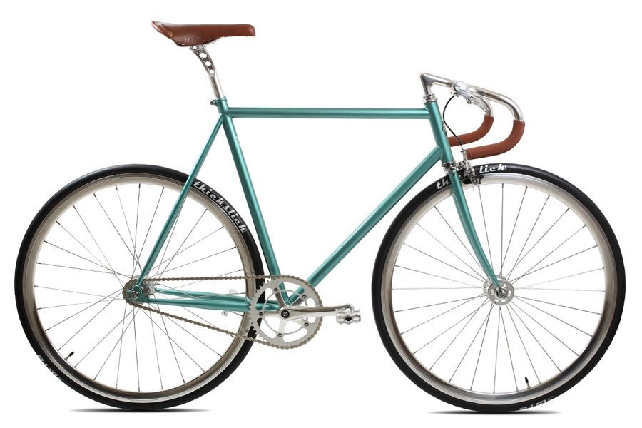 BLB City Classic Single Speed Bicycle - Derby Green