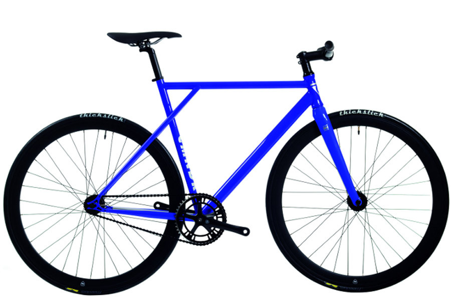 Polo and Bike Cmndr K.S.K. Blue Single Speed Bicycle