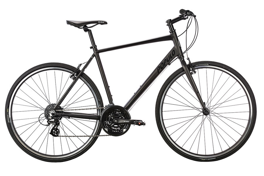 Populo Fusion 1.0 Hybrid bicycle - Black