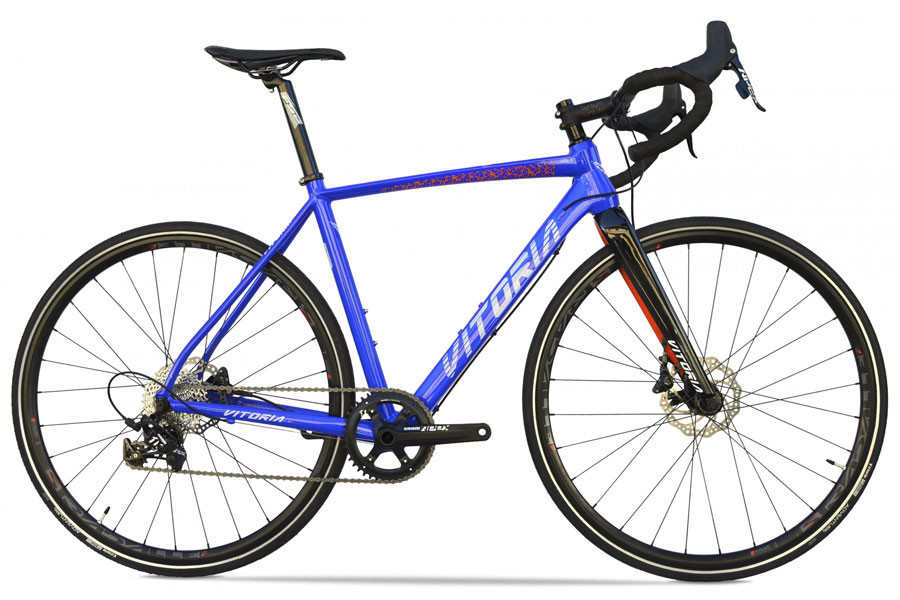 Vitoria Nyxtralight CX Bicycle - Electric Blue