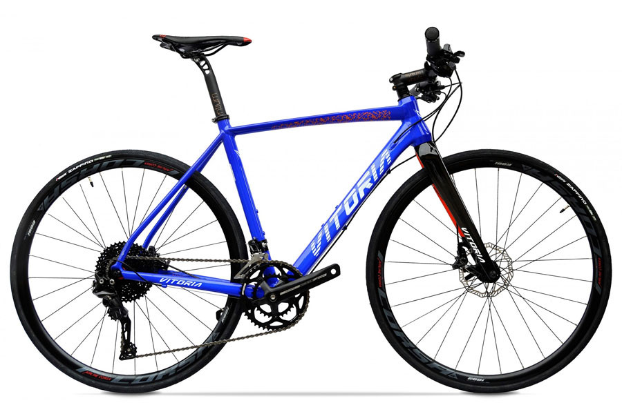 Vitoria Nyxtralight CX Fitness Bicycle - Electric Blue
