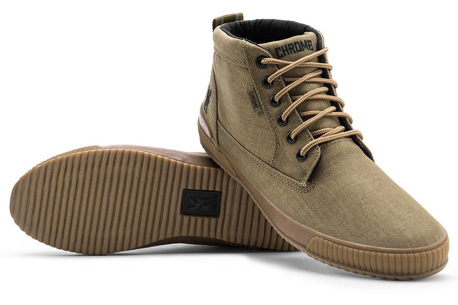 Chrome Industries 415 Workboot in green color ecb1ebf1478