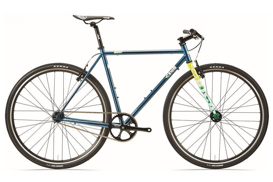 Cinelli Tutto Plus Fixie bike - Crystal Blue Persuasion