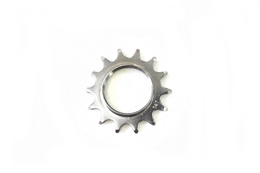 Fixed Gear Track Sprocket 14T + Lock Ring - Silver