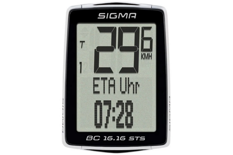 Sigma BC 16.16 STS + Cadence Wireless Cycle Computer