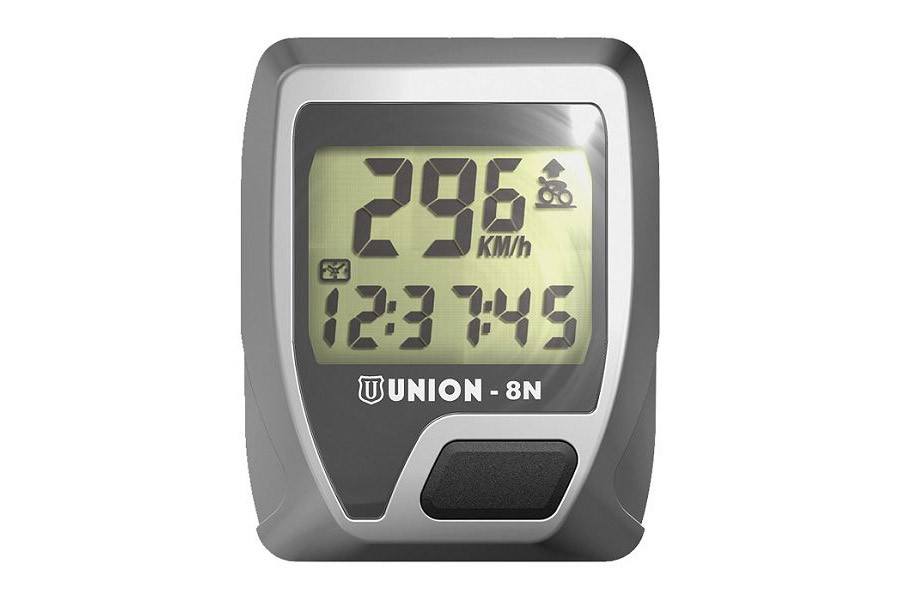 Union 8 Functions Cycle Computer - Silver