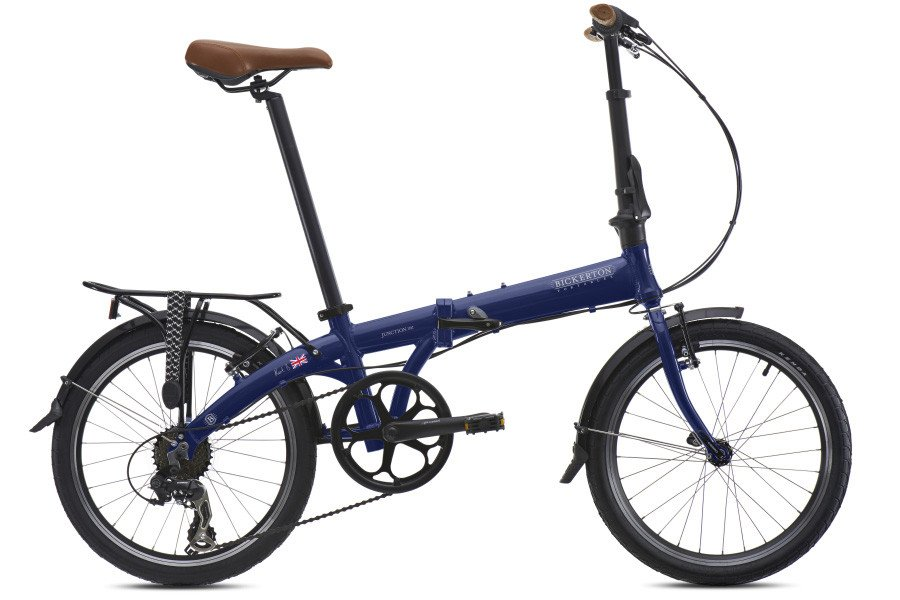 Bickerton Junction 1507 Country Folding Bicycle - Blue