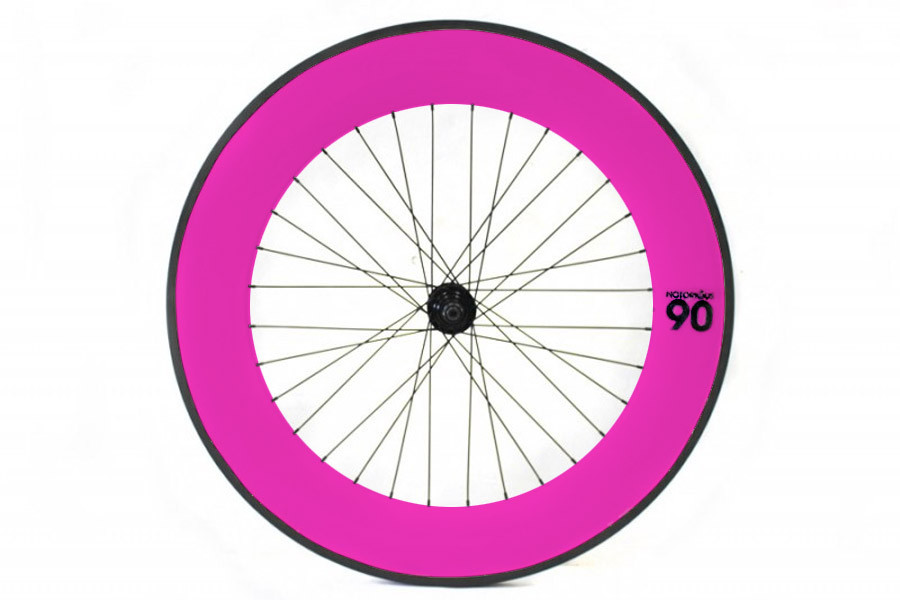 Notorious 90 Rear Track Wheel - Pink