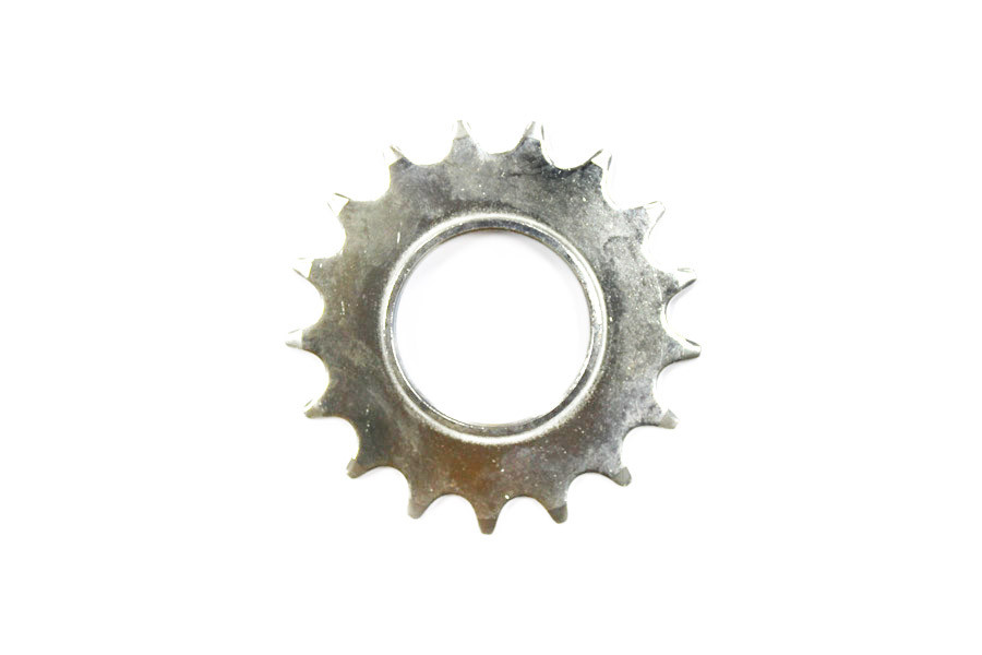 Fixed Gear Track Sprocket 17T + Lock Ring - Silver