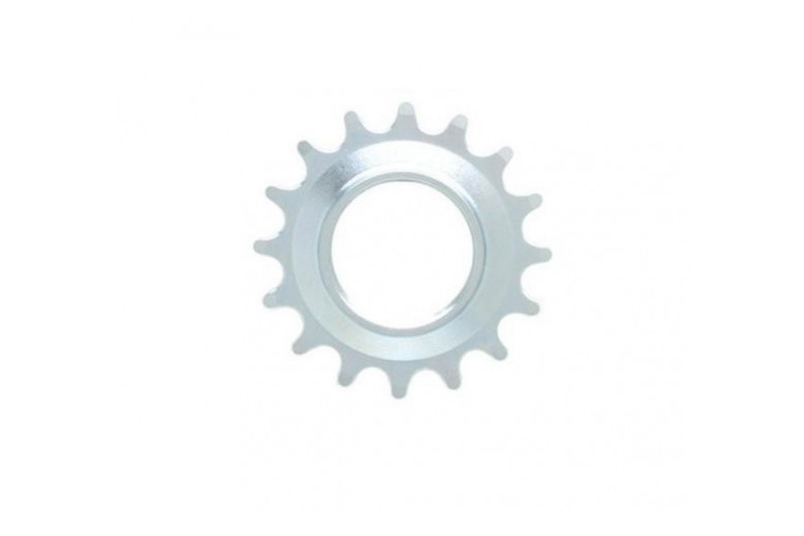 Fixed Gear Track Sprocket 16T + Lock Ring - Silver
