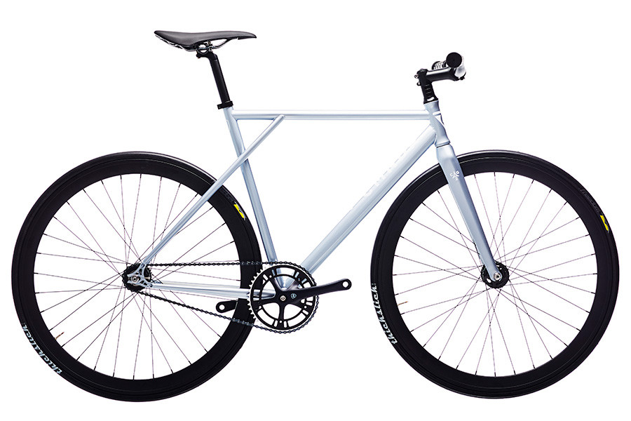 Polo and Bike Cmndr CG2 Silver Single Speed Bicycle