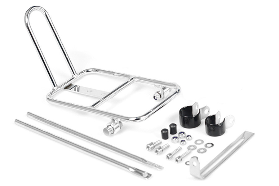 BLB Front Rack - Chrome