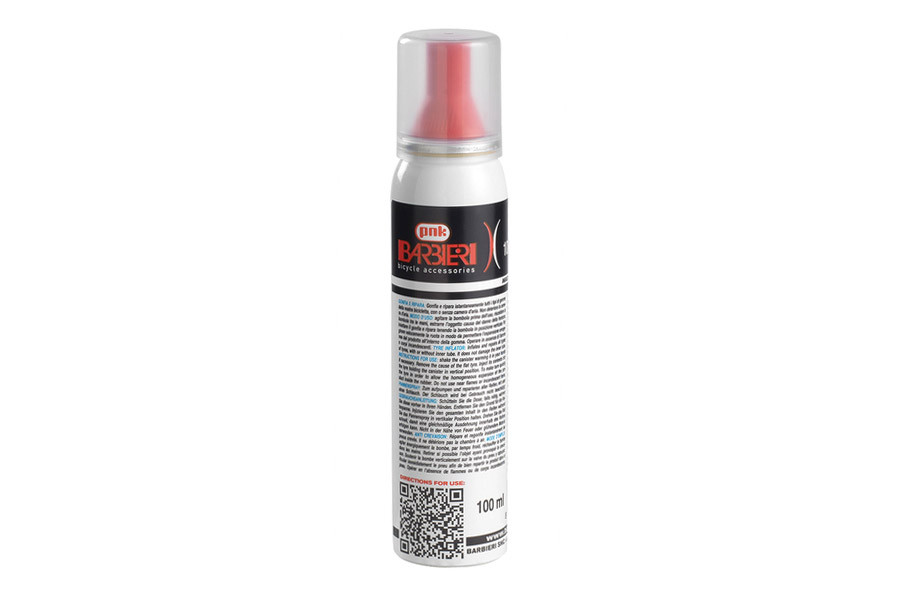 Barbieri Spray Sealant for Tires 100ml - With Velcro