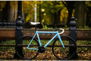 State Undefeated 2 Photon Blue Edition Track Bike