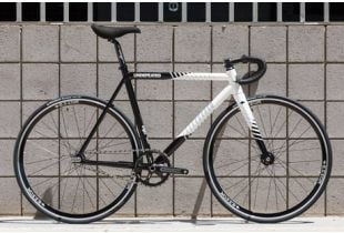 State Undefeated 2 Black & White Edition Track Bike