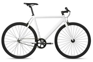 6KU Track Bicycle - White