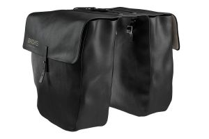 Brooks Brick Lane Roll Up Panniers - Black