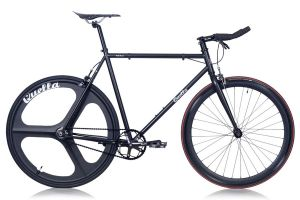 Quella Stealth Black MK1 Single Speed Bike