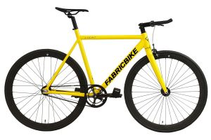 FabricBike Light Track Bicycle - Yellow