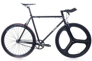Quella Stealth Black MK2 Single Speed Bike