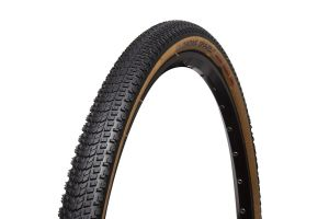 Chaoyang Gravel AT TLR 700x38C Foldable Tyre - Black/Brown