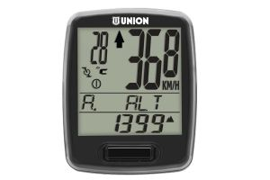 Union 21 Functions Wireless Cycle Computer - Black