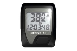 Union 8 Functions Cycle Computer - Black