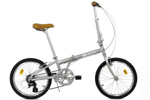 FabricBike Folding 7 Speed Bicycle - Space Grey